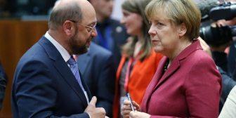 ¿Fin de la crisis? La socialdemocracia alemana votó a favor de comenzar las negociaciones para formar un gobierno con Angela Merkel