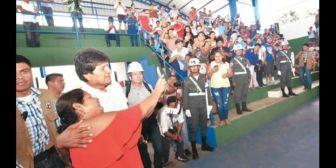 Oficialistas observan datos sobre aprobación de Evo Morales y ven conspiración