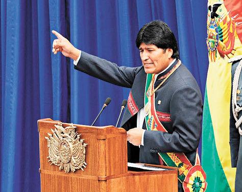 Resultado de imagen para Evo Morales DISCURSO