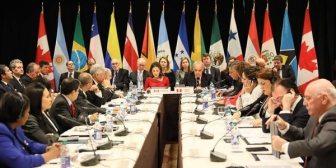 El Grupo de Lima volverá a reunirse este martes en Santiago para abordar la crisis de Venezuela