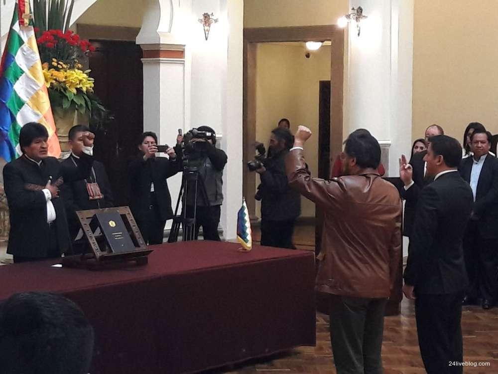 Evo Morales abre su cuenta en Facebook