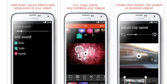 grabar vídeo a cámara lenta en Android