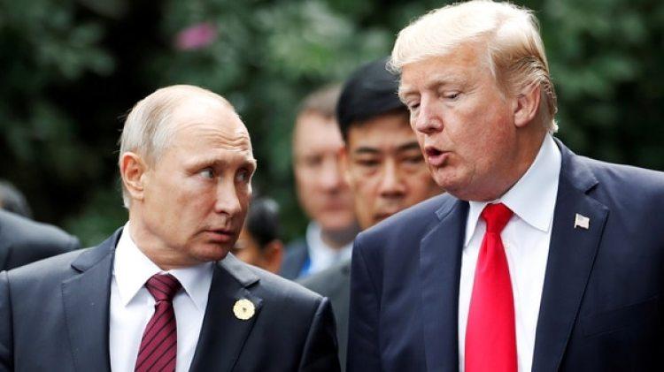Vladimir Putin y Donald Trump (Reuters)