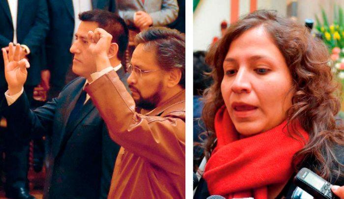 NUEVOS MINISTROS EN EL GABINETE Y LA MINISTRA ARIANA CAMPERO, RATIFICADA.