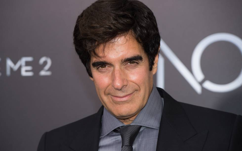 El mago David Copperfield.