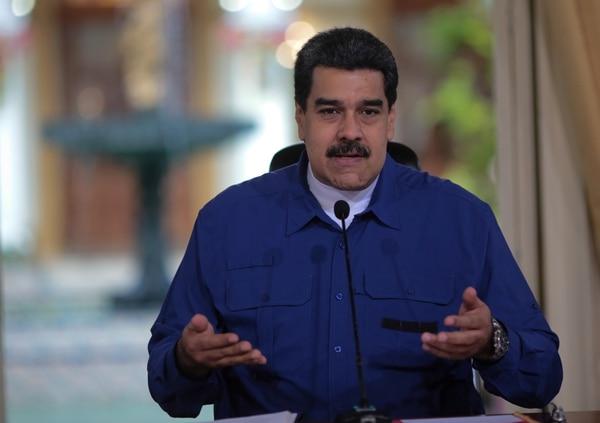 Maduro pasó un mal momento un Facebook Live