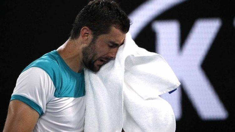 Marin Cilic criticó a la organización por cerrar el techo en su partido ante Federer (Reuters)