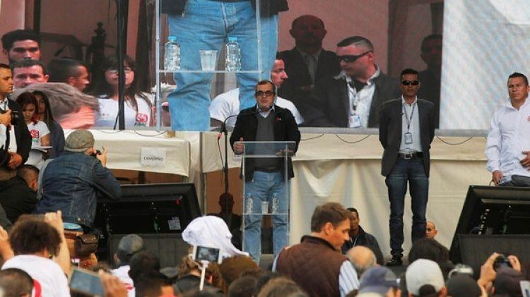 Rodrigo Londoño, alias Timochenko,el líder de las FARC se ha convertido en candidato a la presidencia de Colombia (Reuters)