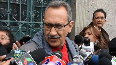 Fabián Yaksic, director del Servicio Departamental de Autonomías de La Paz.