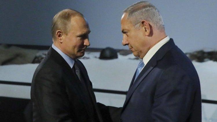 En su visita a Moscú, Netanyahu se reunió con Vladimir Putin(REUTERS)
