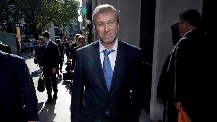 El magnate petrolero Roman Abramovich