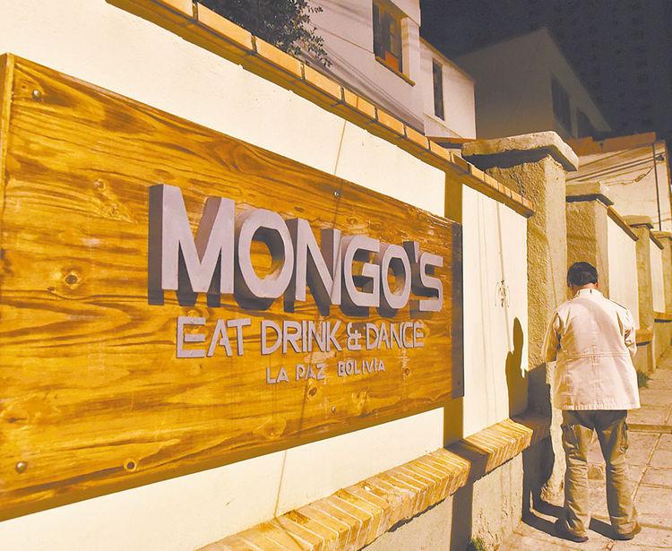 Sopocachi. Mongo's mantiene la clausura. Foto: José Lavayen