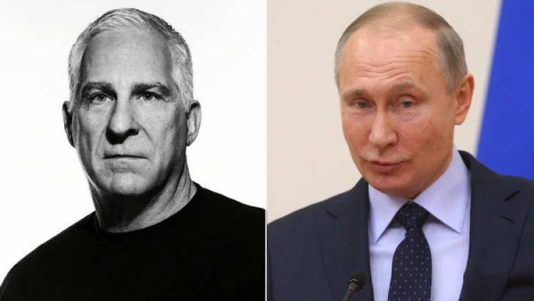 John Sipher y Vladimir Putin