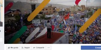 Presidente de Bolivia se une a Facebook y crea cuenta para compartir con los pueblos del mundo