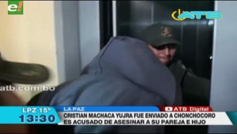 Sujeto es acusado de asesinar a su pareja e hijo