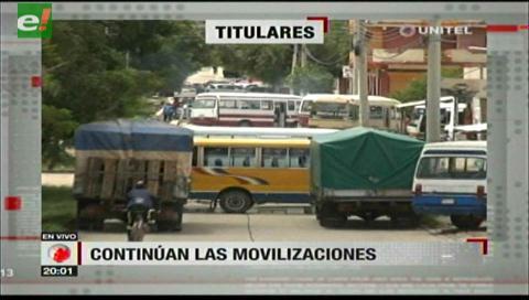 Video titulares de noticias de TV – Bolivia, noche del viernes 19 de enero de 2018