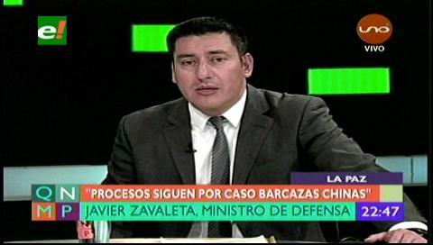 """Ministro Zavaleta: """"Socializaremos las cosas buenas que se hacen en el Ministerio de Defensa"""""""