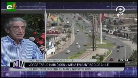 Jorge Tarud: Chile no tiene la obligación de negociar territorio con Bolivia