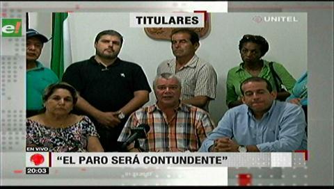 Video titulares de noticias de TV – Bolivia, noche del miércoles 10 de enero de 2018