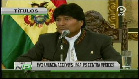 Video titulares de noticias de TV – Bolivia, mediodía del lunes 8 de enero de 2018