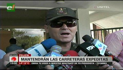 Santa Cruz: Policía afirma que usará la fuerza si no levantan bloqueos