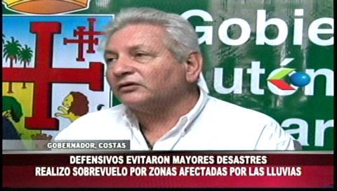 Gobernador Costas garantiza recursos para construcción de la 5ta fase de defensivos