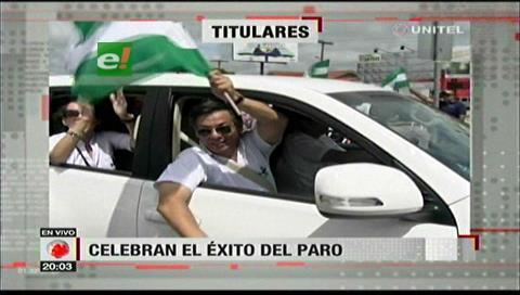 Video titulares de noticias de TV – Bolivia, noche del viernes 12 de enero de 2018
