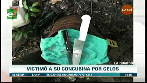 La Guardia: Hombre mató a su concubina por celos