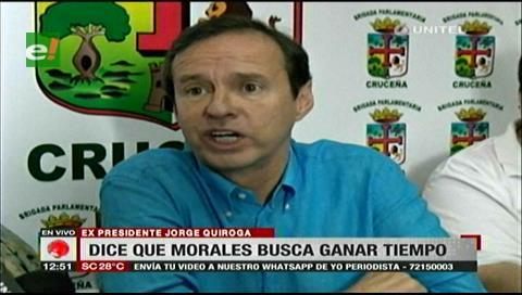 Tuto pide que la OEA sea quien se pronuncie sobre el derecho a repostularse de Evo