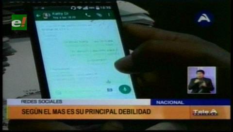 Según el diputado Montaño, las redes sociales es la principal debilidad del Gobierno