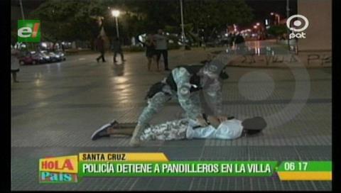 Policía detiene a supuestos pandilleros en la Villa Primero de Mayo