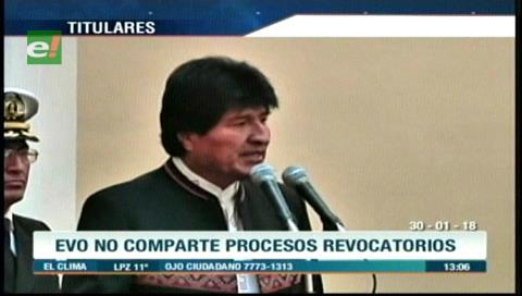 Video titulares de noticias de TV – Bolivia, mediodía del martes 30 de enero de 2018