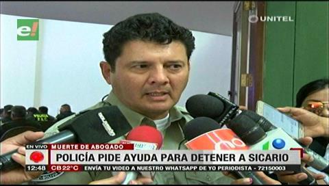 La Policía pide a la población colaborar con la captura del asesino del abogado Herrera