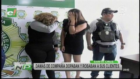 Mujeres dopaban a sus clientes para robarles sus pertenencias