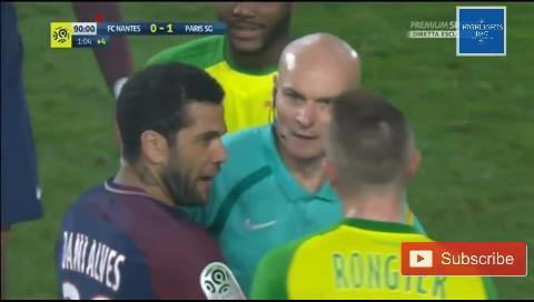 La Federación Francesa canceló la expulsión al brasileño del Nantes y suspendió al árbitro
