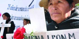 """Familiares de víctimas de octubre de 2003 esperan """"Goni"""" y Sánchez Berzaín sean sentenciados"""