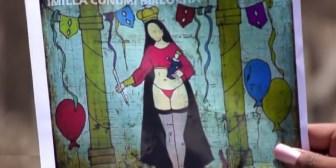 """Iglesia Católica sobre Virgen María en ropa interior: """"Tenemos que perdonar a esta supuesta pintora"""""""