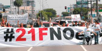 """Plataformas anuncian medidas de presión por el """"fraude"""" del TC"""