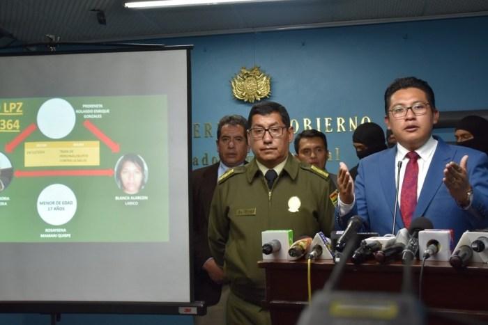 Gobierno acusa a fiscal Blanco de representar a delincuentes y pide su alejamiento