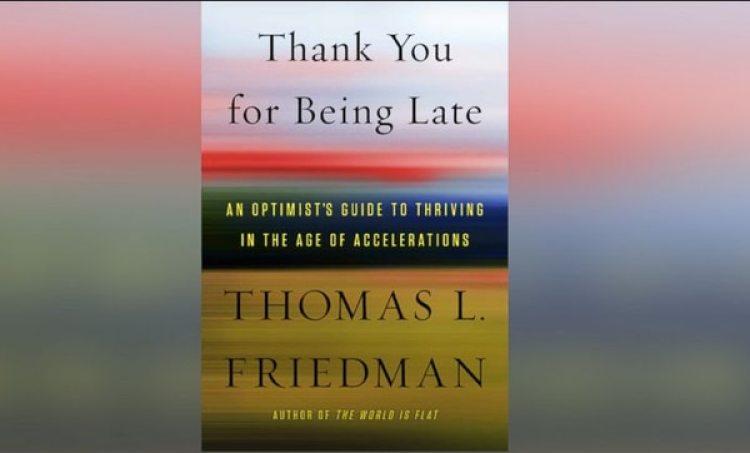 """El nuevo libro de Thomas Friedman, autor del best-seller mundial """"La tierra es plana""""."""
