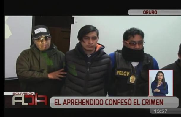 Oruro: Detienen a sujeto acusado de asesinar a su novia de 15 años