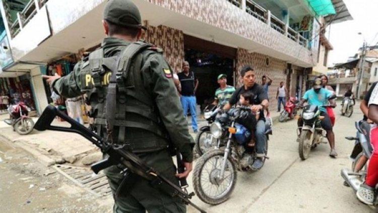 La policía intenta en controlar la situación ante el aumento de inmigrantes venezolanos que han huido de las duras condiciones del régimen de Nicolás Maduro.