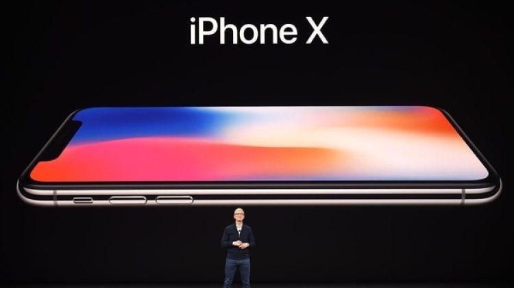 El iPhone X, buque insignia de Apple, salió a la venta en noviembre de 2017