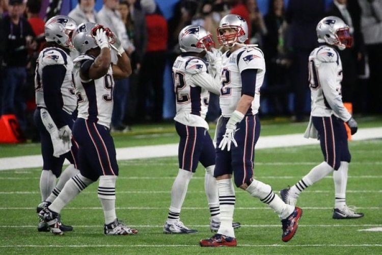 Tom Brady y sus compañeros supieron en esa jugada que la victoria de los Eagles estaba encaminada