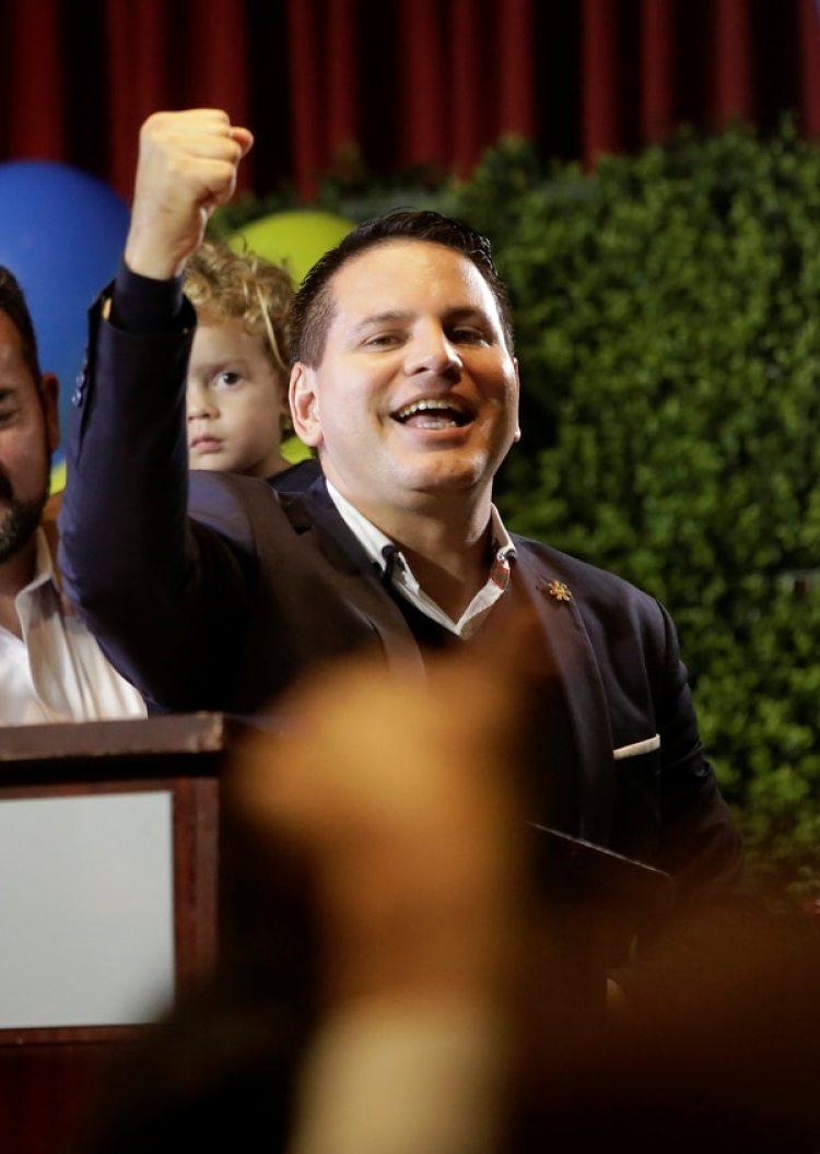 Fabricio Alvarado (REUTERS/Juan Carlos Ulate)