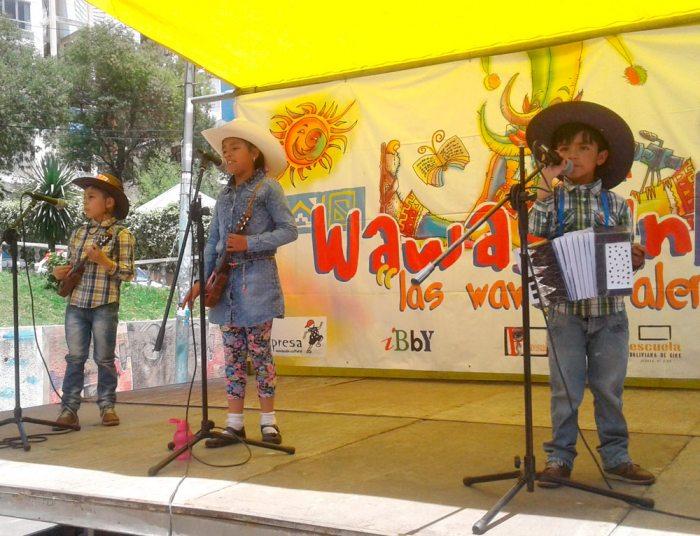 La niña talento participó en los escenarios de la Feria Dominical de El Prado en 2017.