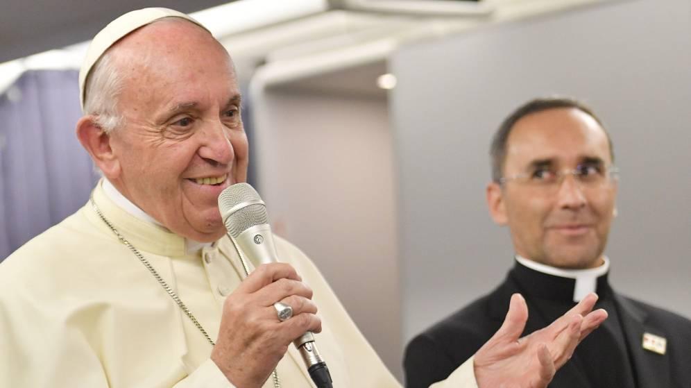 Foto: El papa Francisco aseguró tener tolerancia cero ante los casos de abuso sexual (EFE)