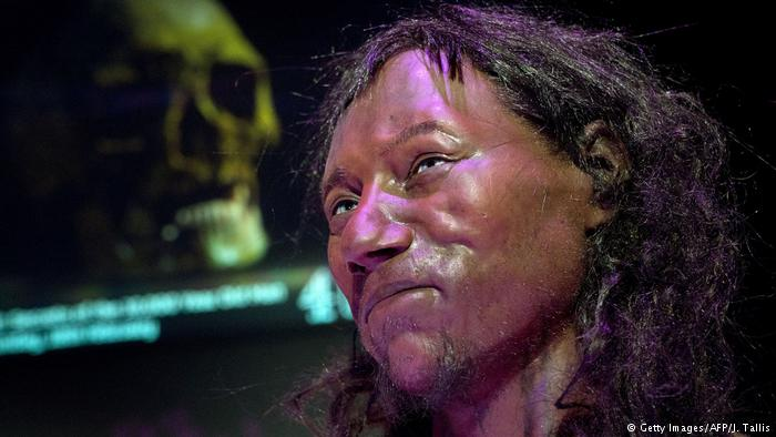 UK Cheddar-Man (Getty Images/AFP/J. Tallis)