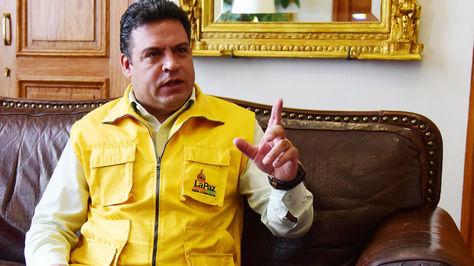 El alcalde de La Paz, Luis Revilla