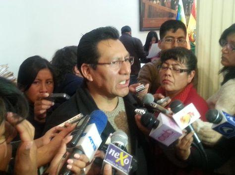 René Joaquino, senador del Movimiento Al Socialismo (MAS).